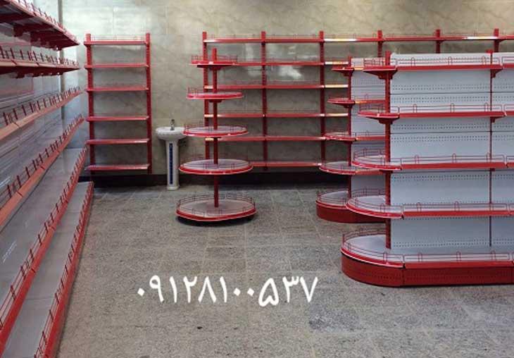 نمونه کار قفسه فلزی فروشگاهی پروژه سازمان میادین